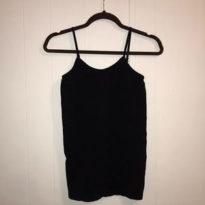Black stretchy camisole